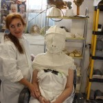 Applying an alginate life cast